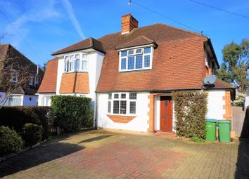 Thumbnail 3 bed semi-detached house for sale in Cranbrook Drive, Esher