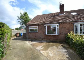 Thumbnail 2 bedroom semi-detached bungalow to rent in Elm Grove, Aldbrough, East Yorkshire
