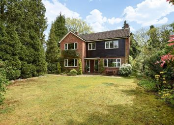 Thumbnail 4 bed detached house for sale in Loddon Close, Camberley
