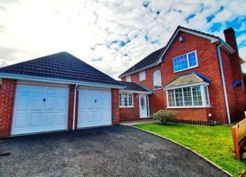 Thumbnail 4 bed detached house for sale in Plough Croft, Warndon, Worcester