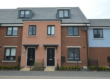 Thumbnail 3 bedroom terraced house for sale in Mallard Way, Sprowston, Norwich