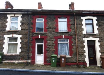 Thumbnail 3 bed terraced house for sale in William Street, Trethomas, Caerphilly