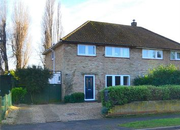 Thumbnail 3 bedroom semi-detached house for sale in Coronation Avenue, Huntingdon, Cambridgeshire