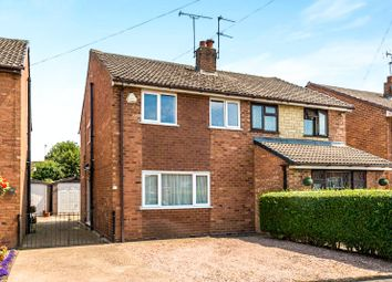 Thumbnail 3 bed semi-detached house for sale in Bentley Road, Uttoxeter