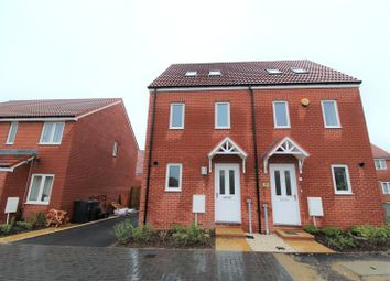 Thumbnail 3 bedroom semi-detached house to rent in Brickworth Place, Badbury Park, Swindon
