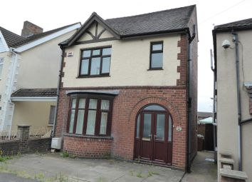 Thumbnail 3 bed detached house for sale in Regent Street, Church Gresley, Swadlincote