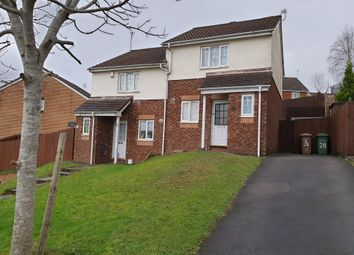 Thumbnail 2 bed property to rent in Ffordd Erw, Caerphilly
