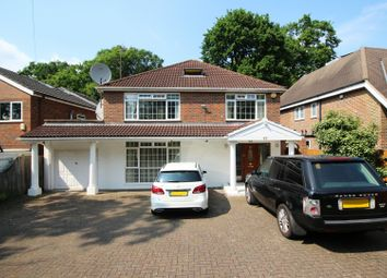 Thumbnail 5 bed detached house for sale in Salisbury Road, Worcester Park, Surrey