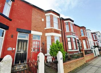 Thumbnail 3 bedroom terraced house to rent in Wellington Road, Wallasey