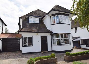 Thumbnail 4 bed detached house to rent in Meadway, Westcliff, Essex