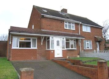 Thumbnail 4 bedroom semi-detached house to rent in Parker Road, Wolverhampton
