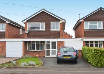 Thumbnail 3 bed link-detached house for sale in Burns Close, Lichfield