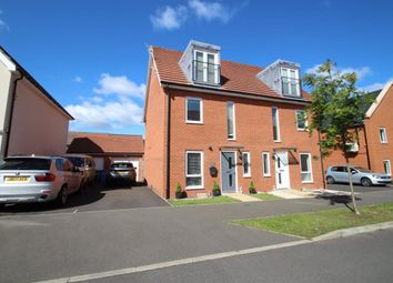 Thumbnail 3 bed semi-detached house for sale in Jaguar Lane, Bracknell