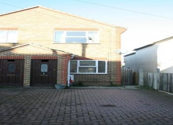 Thumbnail 3 bed property to rent in Station Road, Rainham, Gillingham