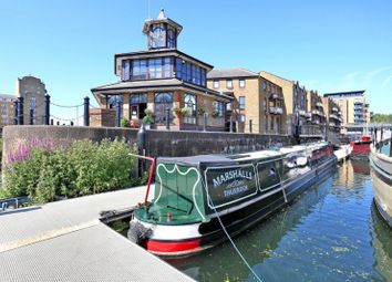 Thumbnail 2 bed houseboat for sale in Limehouse Marina, London