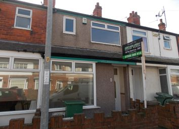 Thumbnail 3 bed terraced house to rent in Newby Road, Grimsby