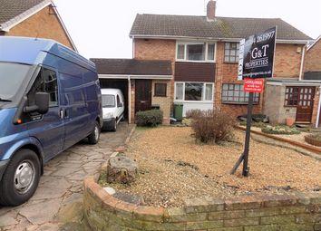 Thumbnail 3 bedroom semi-detached house to rent in Hamilton Drive, Wordsley, Stourbridge