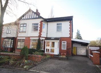 Thumbnail 4 bedroom semi-detached house for sale in Lambton Road, Worsley, Manchester