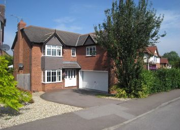 Thumbnail 5 bed detached house to rent in Speedwell Drive, Broughton Astley, Leicester
