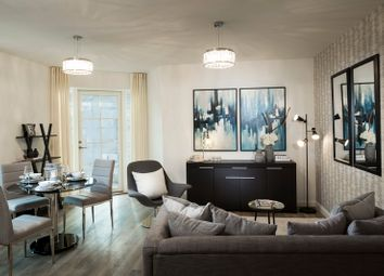 Thumbnail 1 bed flat for sale in Burlington Lane, Chiswick, London