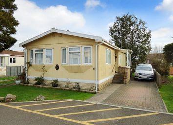 Thumbnail 3 bed mobile/park home for sale in Arundel Drive, Thornlea Court, Littlehampton