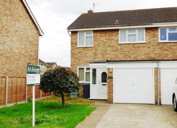 Thumbnail 3 bed semi-detached house for sale in Brionne Way, Longlevens, Gloucester, Gloucestershire