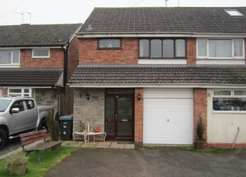 Thumbnail 3 bed semi-detached house for sale in Nova Croft, Eastern Green, Coventry