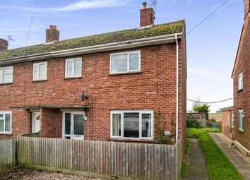 Thumbnail 2 bedroom end terrace house for sale in Herbert Drive, Methwold, Thetford