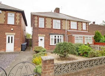Thumbnail 3 bed semi-detached house for sale in North View, Gilesgate, Durham