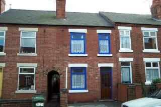 Thumbnail 2 bedroom terraced house to rent in Howitt Street, Heanor