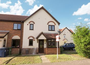 Thumbnail 1 bedroom end terrace house for sale in Lindisfarne Close, Eynesbury, St. Neots