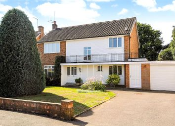 Thumbnail 4 bed detached house for sale in Ronneby Close, Weybridge, Surrey