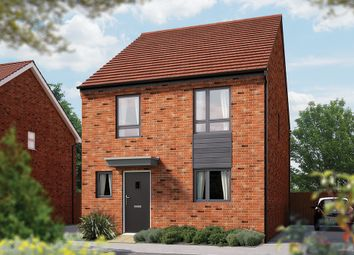 "Thumbnail 4 bed link-detached house for sale in ""The Caldecotte"" at Calverton Lane, Calverton, Milton Keynes"