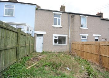 Thumbnail 2 bed terraced house for sale in New Row, Eldon, Bishop Auckland