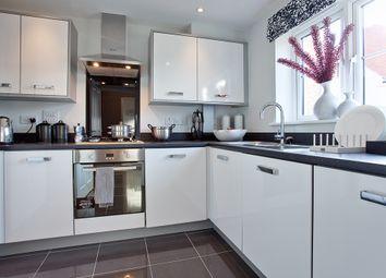 "Thumbnail 2 bed semi-detached house for sale in ""The Mondrem"" at Ash Road, Cuddington, Northwich"