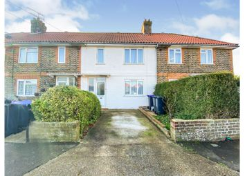 Thackeray Road, Broadwater, Worthing BN14. 3 bed terraced house for sale