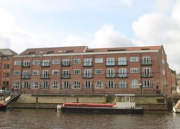 Thumbnail 2 bed flat for sale in Waterfront House, Clementhorpe, York