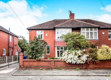 Thumbnail 4 bedroom semi-detached house for sale in Clovelly Road, Chorlton, Manchester, Greater Manchester