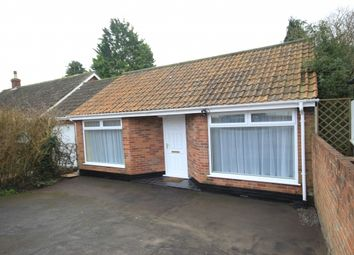 Thumbnail 1 bed detached bungalow for sale in Sedgemoor Road, Woolavington, Bridgwater