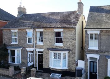 Thumbnail 3 bed semi-detached house for sale in Victoria Street, Bury St. Edmunds