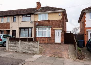 Thumbnail 2 bed end terrace house for sale in Thurlestone Road, Birmingham
