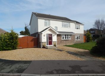 Thumbnail 5 bedroom detached house for sale in Towgood Way, Great Paxton, St. Neots