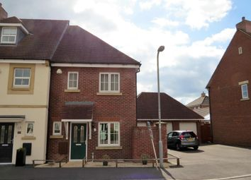 Thumbnail 2 bed end terrace house to rent in Palace Road, Gillingham, Dorset