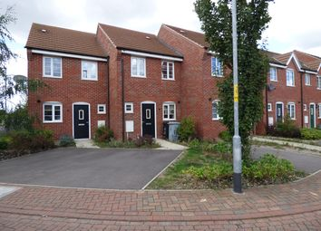 Thumbnail 2 bed terraced house to rent in Hathersage Close, Grantham
