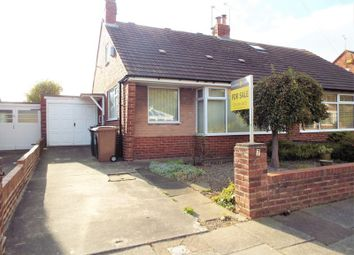 Thumbnail 1 bed bungalow for sale in Alder Grove, Whitley Bay