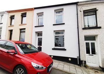 Thumbnail 3 bed terraced house for sale in Saxon Street, Merthyr Tydfil, Mid Glamorgan