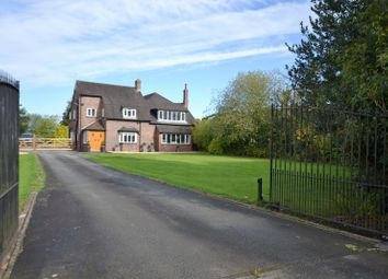 Thumbnail 5 bed detached house to rent in Twemlow Green, Holmes Chapel, Crewe