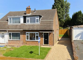 Thumbnail 3 bed semi-detached house for sale in Hollyhurst Road, Wrockwardine Wood, Telford