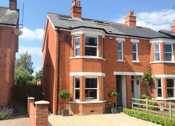 Thumbnail Semi-detached house for sale in Porchester Road, Newbury