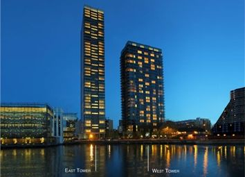 Thumbnail 1 bed flat for sale in Landmark East Tower, 24 Marsh Wall, London